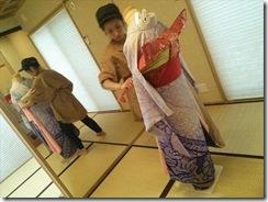 美容師さんの振袖他装着付練習 (4)