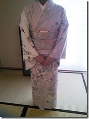 教室で着付を学んで結婚式へ (5)