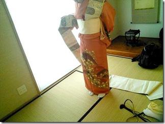 美和きもの教室の着付けテスト(^○^)♪