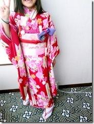 広島プリンスホテルから宮島へ七五三の出張着付 (4)