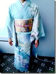 広島プリンスホテルから宮島へ七五三の出張着付 (6)