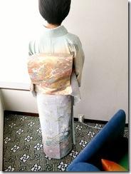 広島プリンスホテルから宮島へ七五三の出張着付 (7)
