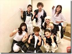 STEPSダンスコンサートで着付も楽しんで (14)