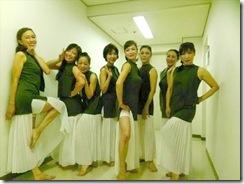STEPSダンスコンサートで着付も楽しんで (15)