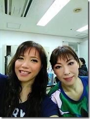 STEPSダンスコンサートで着付も楽しんで (28)