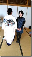 着付師がモリモリと成人式の振袖着付をスキルアップ (2)