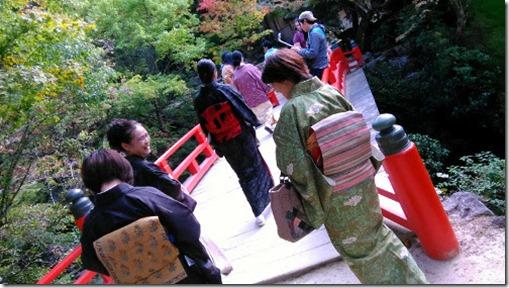 美和きもの教室の皆さんと着物で世界遺産の宮島へ (7)