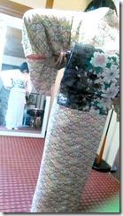 で礼装着の着付テスト (2)