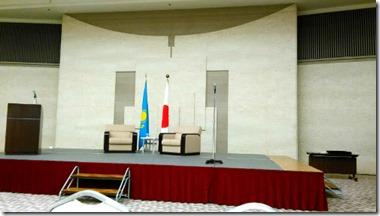 広島国際会議場開催のカザフスタン大統領歓迎行事に出張着付 (8)