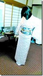 で礼装着の着付テスト (3)