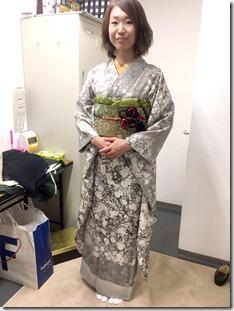 振袖と色無地の出張着付で結婚式に (1)