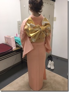 振袖と色無地の出張着付で結婚式に (11)