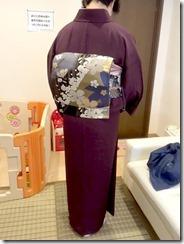 素敵なお着物でお寺の合同法要に (1)