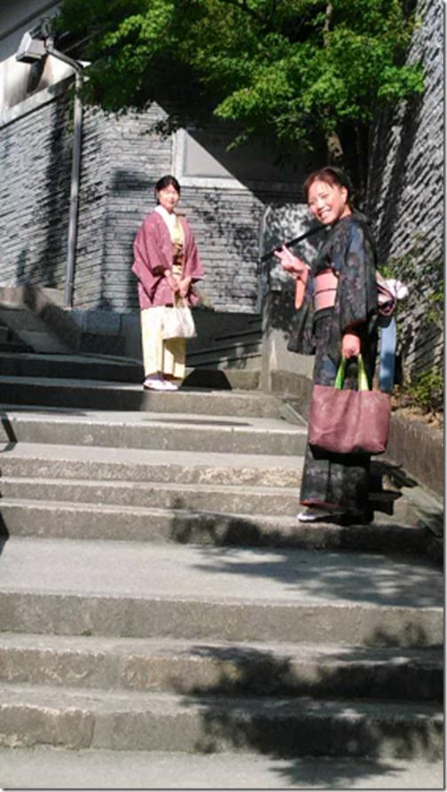 美和きもの教室の皆さんと着物で世界遺産の宮島へ (9)