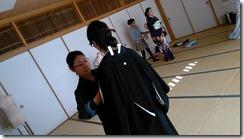 着付師がモリモリと成人式の振袖着付をスキルアップ (7)