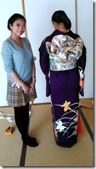 着付師がモリモリと成人式の振袖着付をスキルアップ (9)