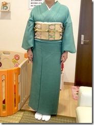 素敵なお着物でお寺の合同法要 (3)