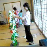 成人式に向けて振袖着付のスタッフ練習会(^O^)♪