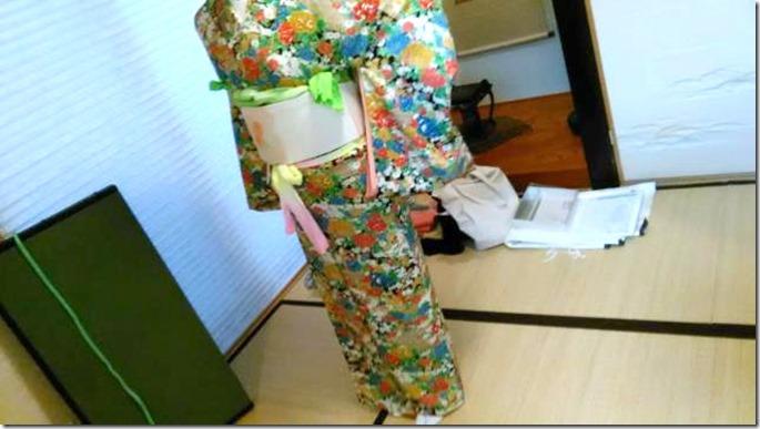 着物着付のテスト練習 (5)