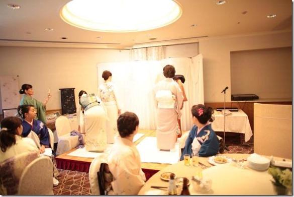 平成28年 美和きもの教室 認定式&クリスマスパーティー (4)