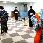 リビングカルチャー木曜日の着物教室(*^_^*)♪
