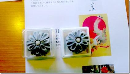 またまた着物でグランプリ受賞の旬月へ和菓子体験 (8)