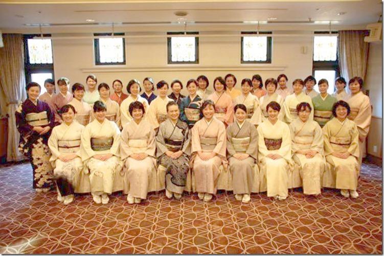 平成28年 美和きもの教室 認定式&クリスマスパーティー (5)