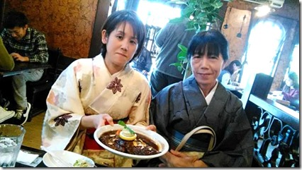 またまた着物でグランプリ受賞の旬月へ和菓子体験 (15)