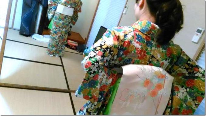着物着付のテスト練習 (4)