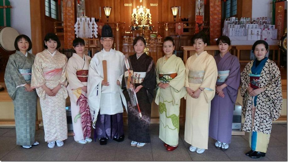 護国神社へ参拝 (1)