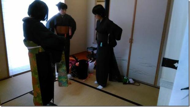 土曜日の温品美和きもの教室 (1)