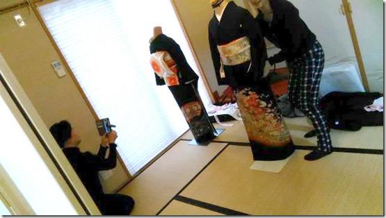 黒留袖の他装着付教室を (1)