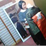美和きもの 高須教室で着物着付けのテストを(^o^)♪