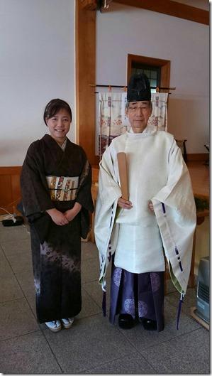 護国神社へ参拝 (2)