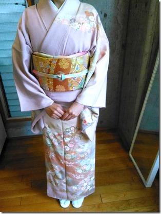 帯と着物の素敵なコーディネート (2)