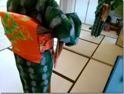 紬の着付方を学ぶコース (1)