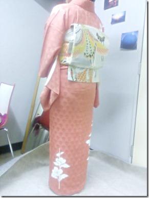 着付師 永井さんの訪問着着付 (1)