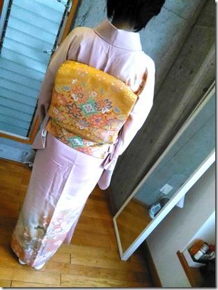 帯と着物の素敵なコーディネート (1)