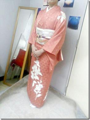 着付師 永井さんの訪問着着付 (2)