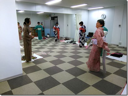 リビングカルチャー倶楽部のきもの教室 (1)