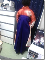 鮮やかな紫の袴も素敵な (3)