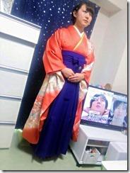 鮮やかな紫の袴も素敵な (4)