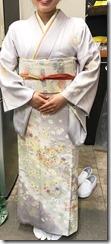 広島の縮景園に着物でお茶会へ (1)