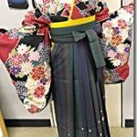 美容室で袴の出張着付を(*^_^*)♪