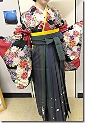 美容室へ袴の出張着付に (10)