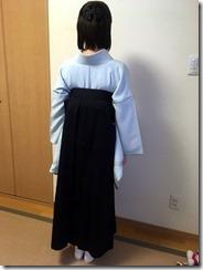 学校の先生も袴の出張着付けを (2)