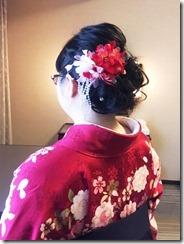 リーガロイヤルホテル広島へ袴着付とヘアセットに(*^^*)♪