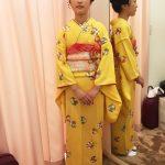 お似合いの日本髪に着物で十三詣りへ(^O^)/♪