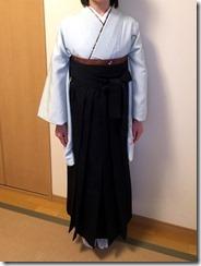 学校の先生も袴の出張着付けを (3)