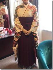 袴の出張着付にリーガロイヤルホテル広島へ (1)